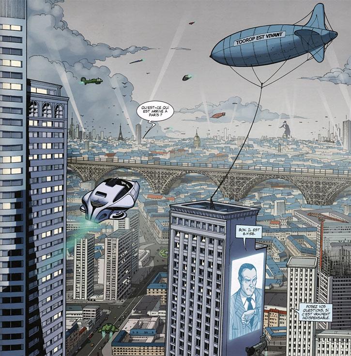 Masqué (bande dessinée, Ch. Lehman) - Paris du futur