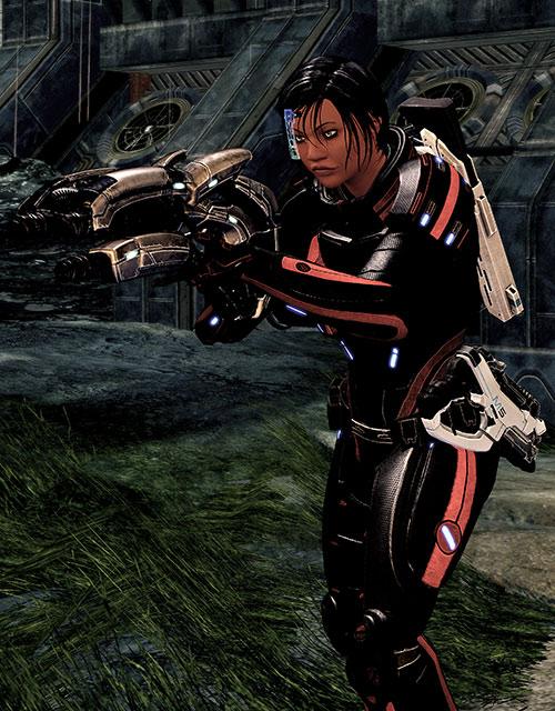 Mass Effect 2 guns - Geth plasma shotgun