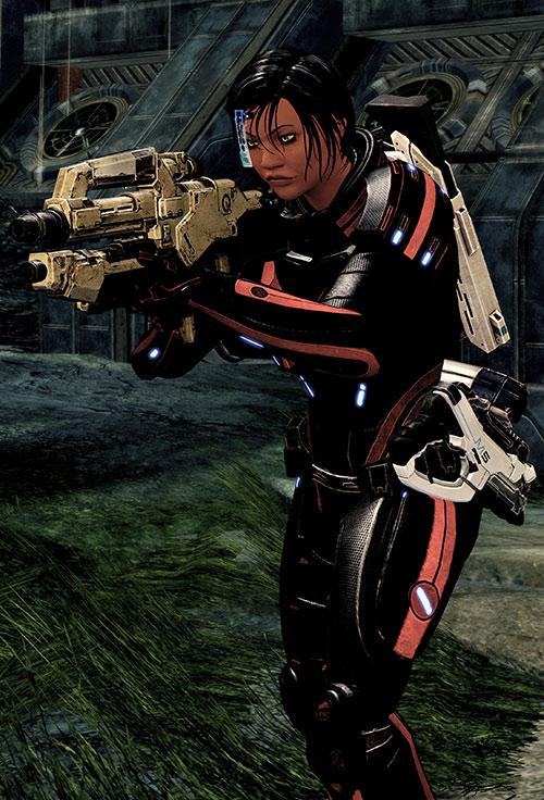 Mass Effect 2 guns - Mattock rifle