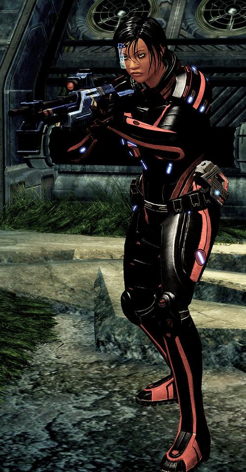 Mass Effect 2 guns - Incisor rifle