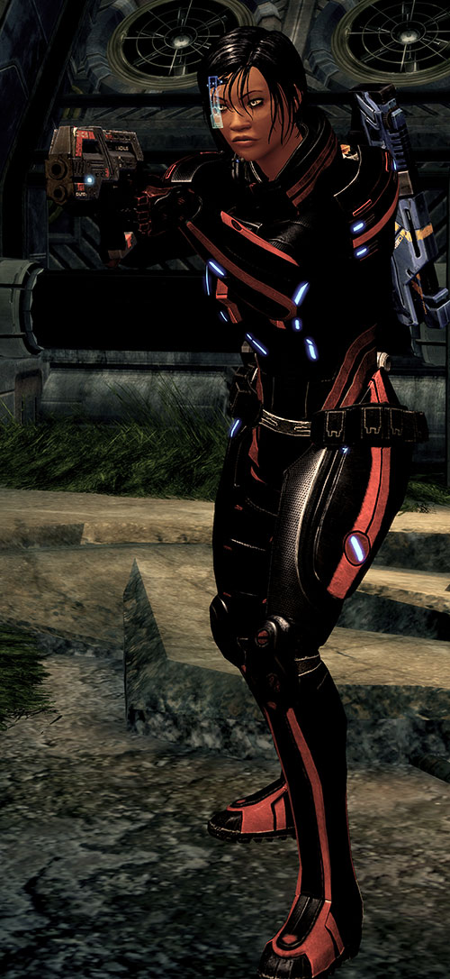 Mass Effect 2 guns - Carnifex pistol