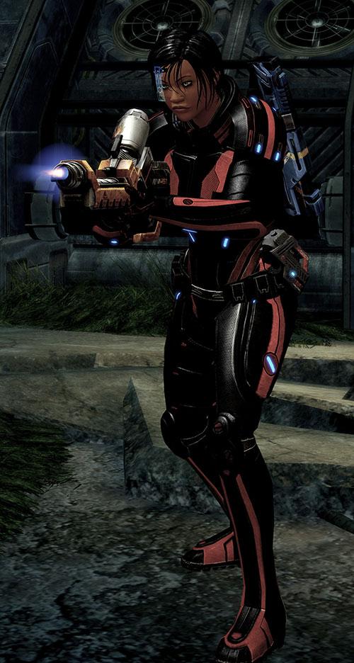 Mass Effect 2 guns - Firestorm flamethrower