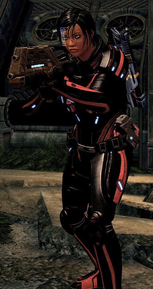 Mass Effect 2 guns - Vindicator rifle