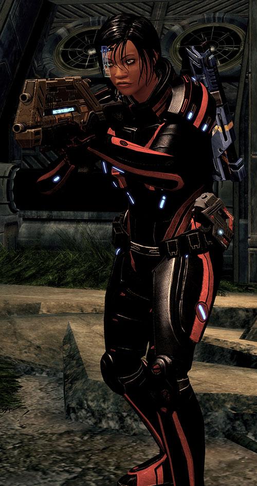 Mass Effect 2 guns - Vindicator rifle