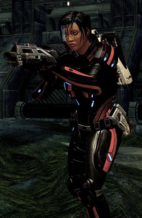 Mass Effect 2 guns - Katana shotgun