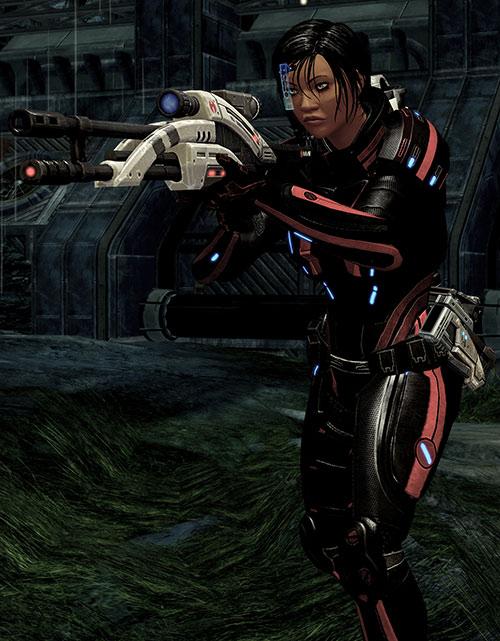 Mass Effect 2 guns - Mantis rifle