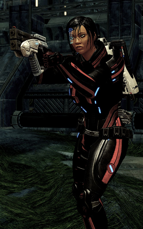 Mass Effect 2 guns - Predator pistol