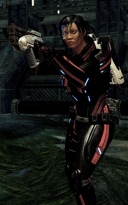 Mass Effect 2 guns - Predator pistol