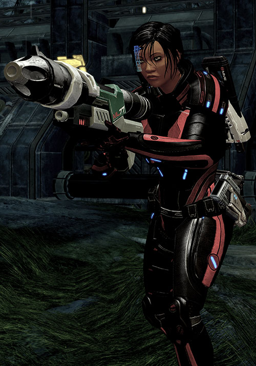 Mass Effect 2 guns - ML77 missile launcher