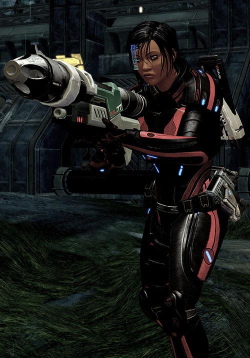 Mass Effect 2 guns - ML77 missile launcher