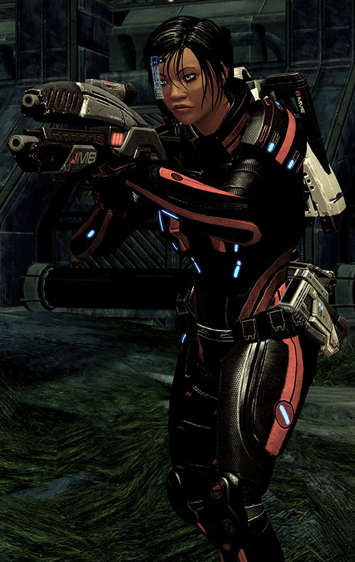 Mass Effect 2 guns - Avenger rifle