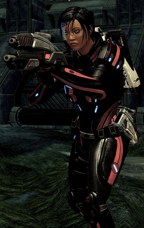 Mass Effect 2 guns - Avenger rifle