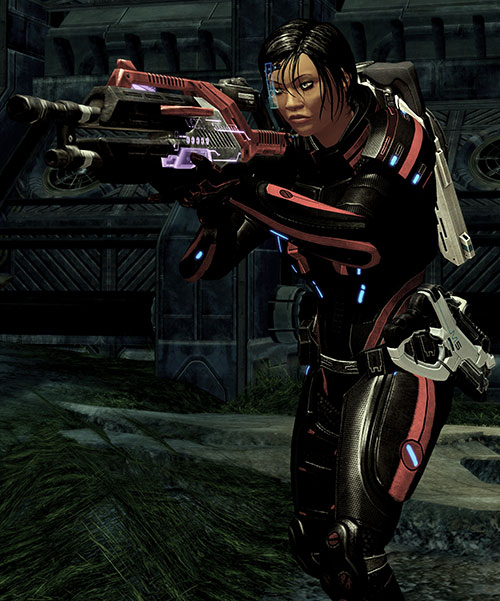 Mass Effect 2 guns - Revenant machinegun