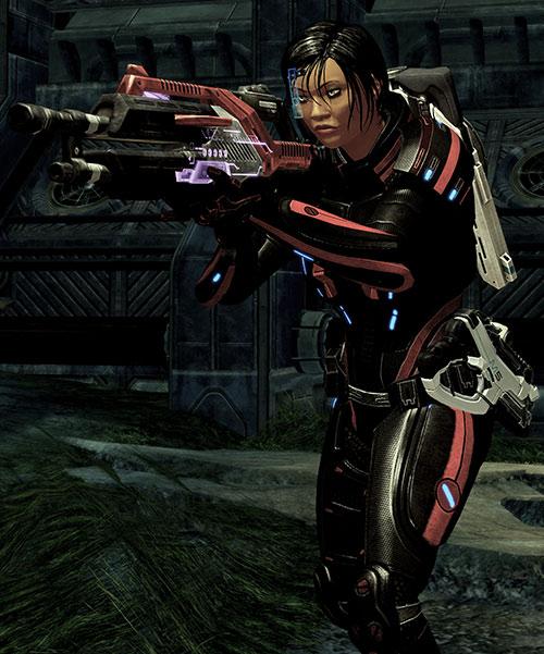 Mass Effect 2 guns - Revenant machinegun