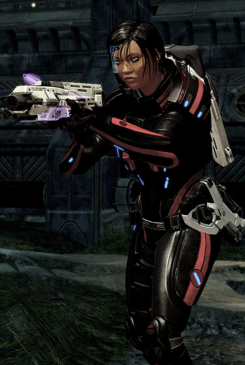 Mass Effect 2 guns - Scimitar shotgun