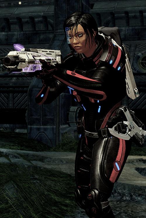 Mass Effect 2 guns - Scimitar shotgun
