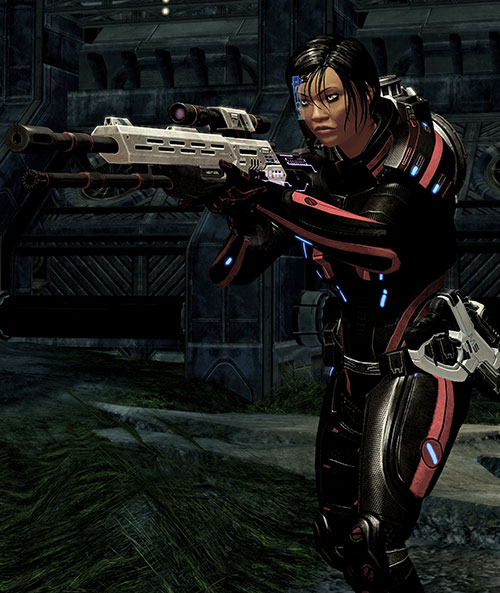 Mass Effect 2 guns - Viper rifle