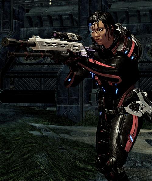 Mass Effect 2 guns - Viper rifle
