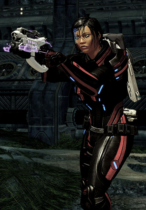Mass Effect 2 guns - Phalanx pistol