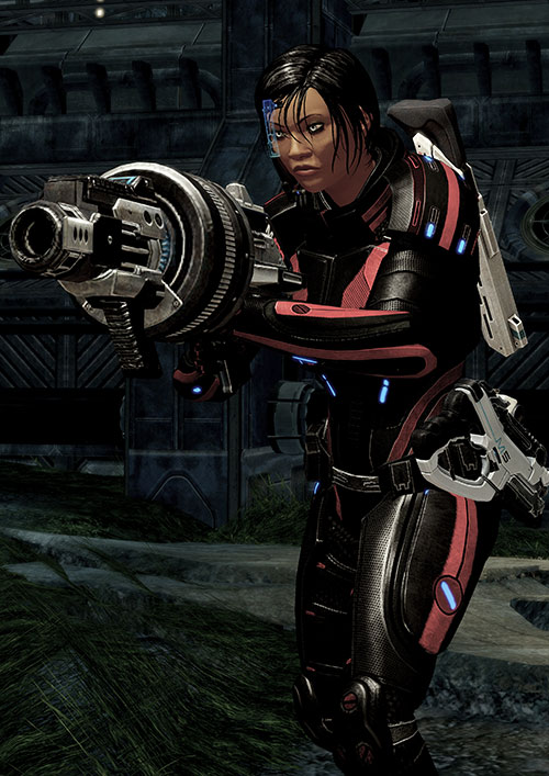Mass Effect 2 guns - M100 grenade launcher