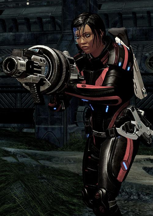Mass Effect 2 guns - M100 grenade launcher