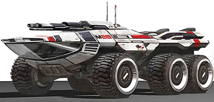 Concept art for the Mako