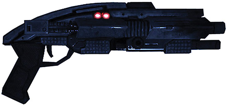 Mass Effect 1 shotgun