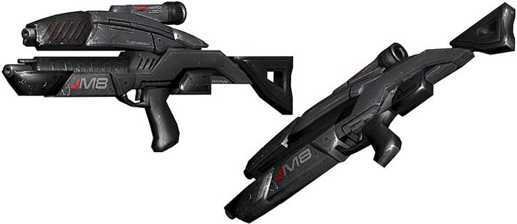 Avenger assault rifle model views