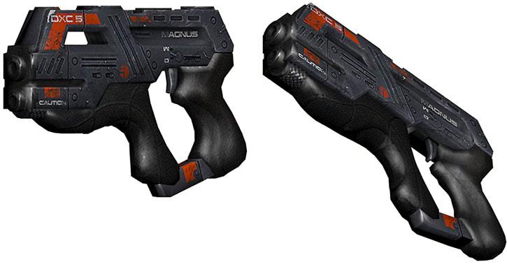 Carnifex pistol model views