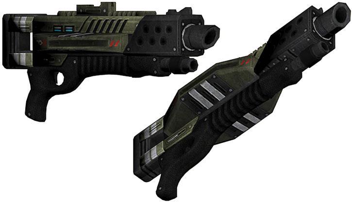 Claymore shotgun model views