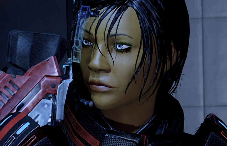Commander Shepard is sceptical