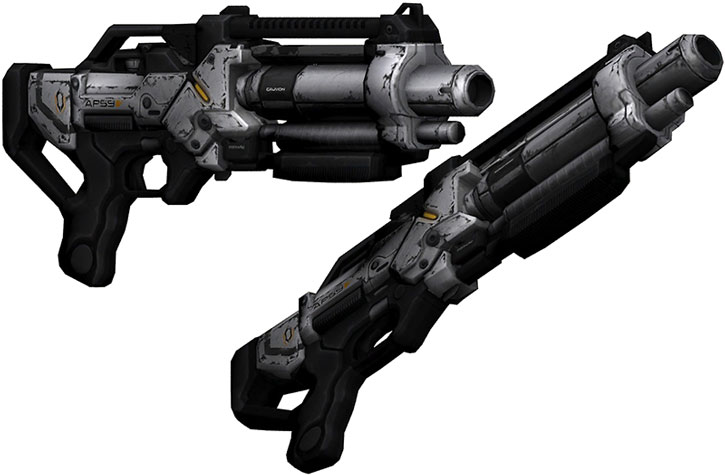 Eviscerator shotgun model views