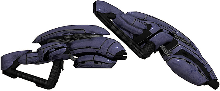Geth pulse rifle model views