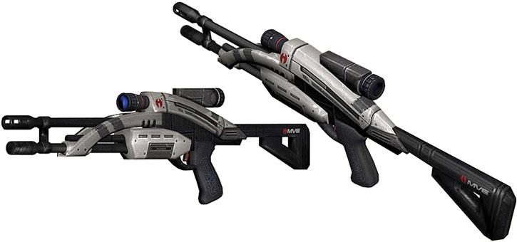 Mantis sniper rifle model views
