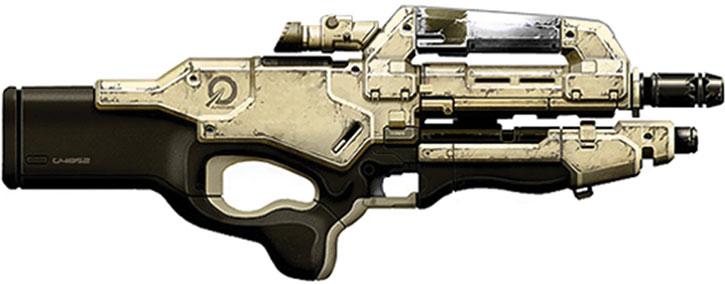Mattock rifle