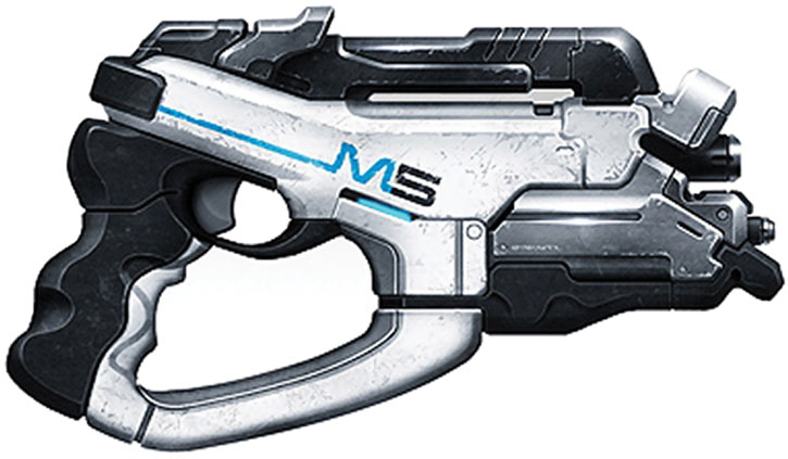 Phalanx pistol