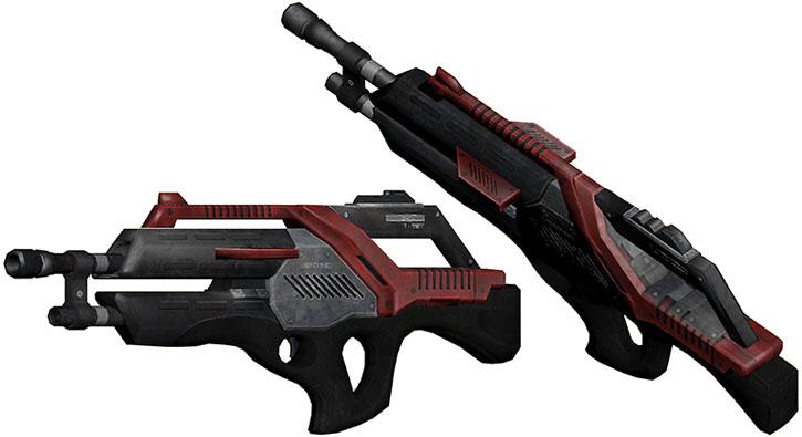 Revenant machinegun model views