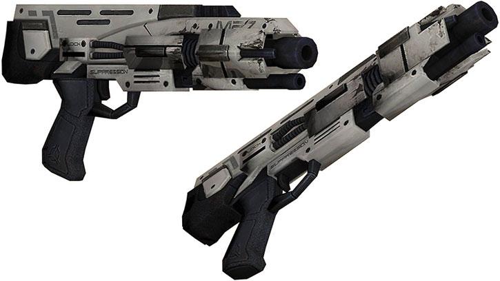 Scimitar shotgun model views
