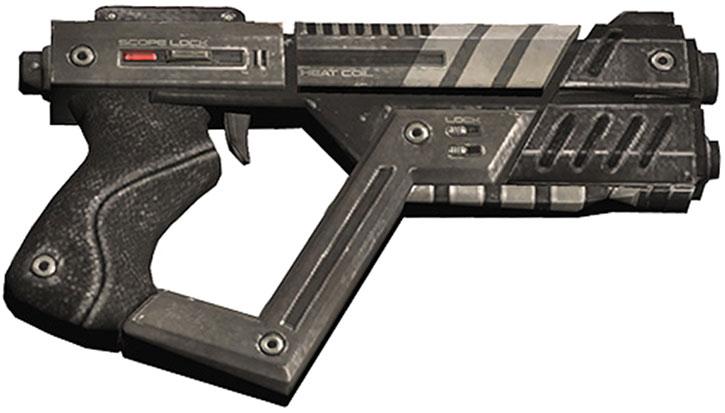 Shuriken machine pistol