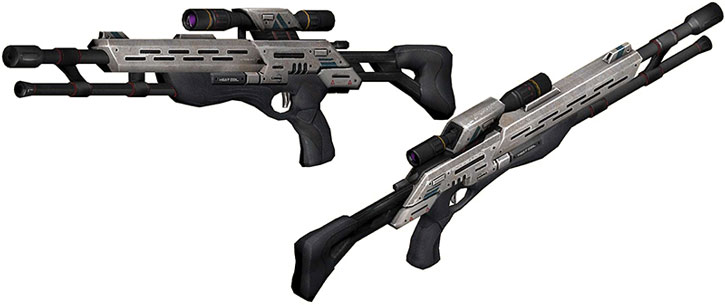 Viper sniper rifle model views