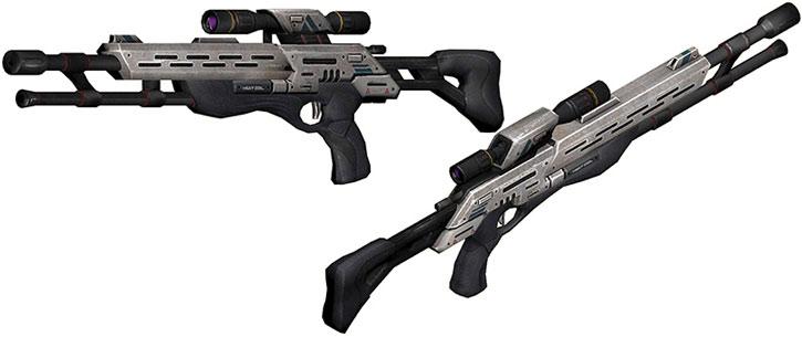 Viper sniper rifle model views