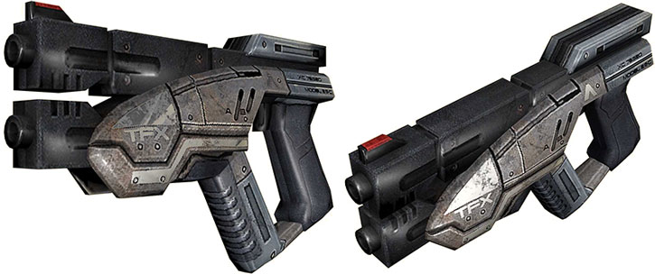 Predator pistol model views