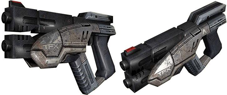 Predator pistol model views