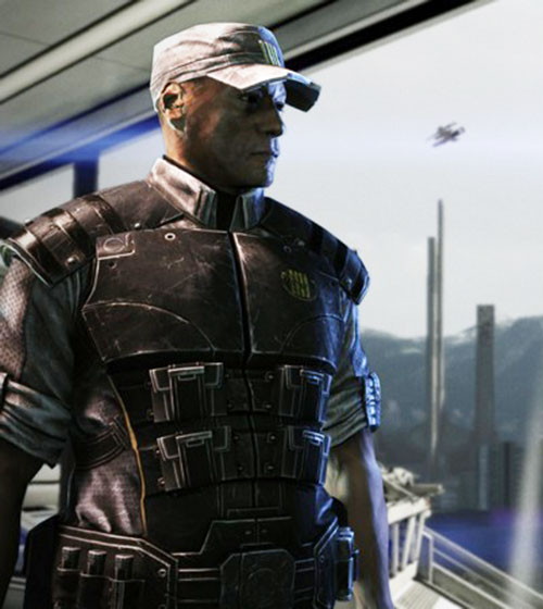 Anderson in Mass Effect 3