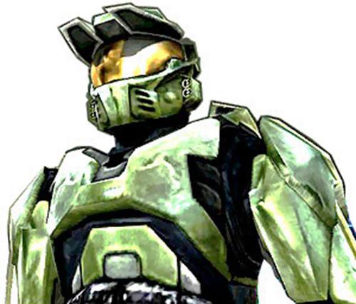 Spartan soldier (Halo) upper armor