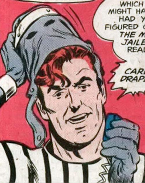 Master Jailer (Superman enemy) (DC Comics) unmasking