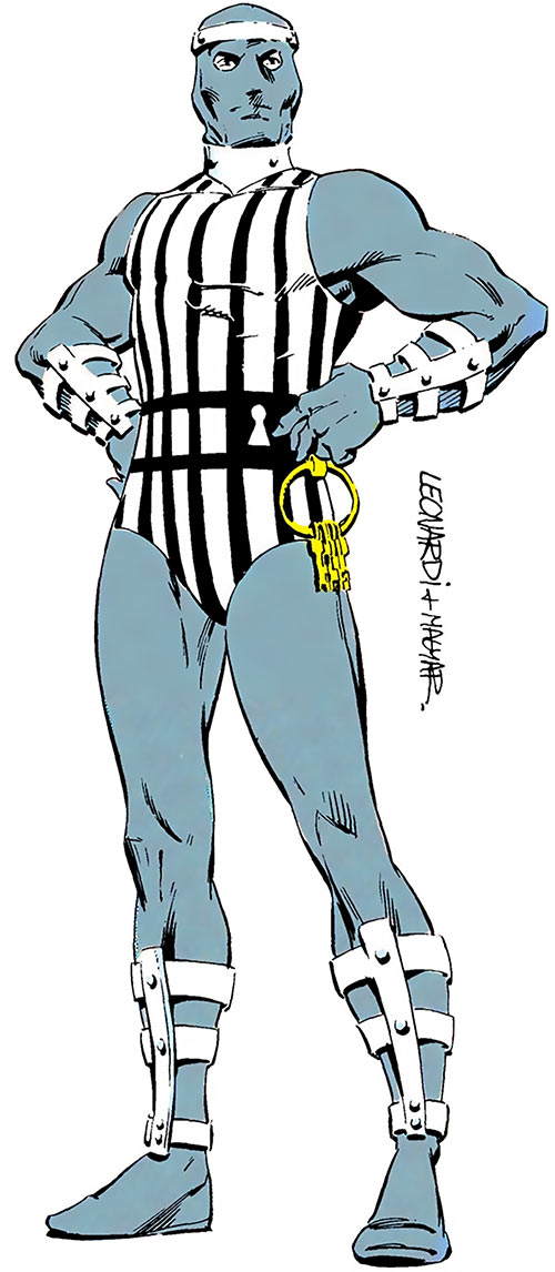 Master Jailer (Superman enemy) (DC Comics) from the Who's Who
