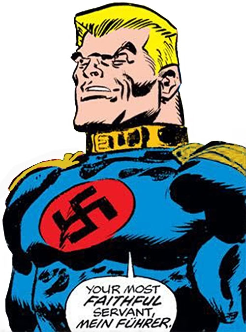 Master Man (Marvel Comics) smiling