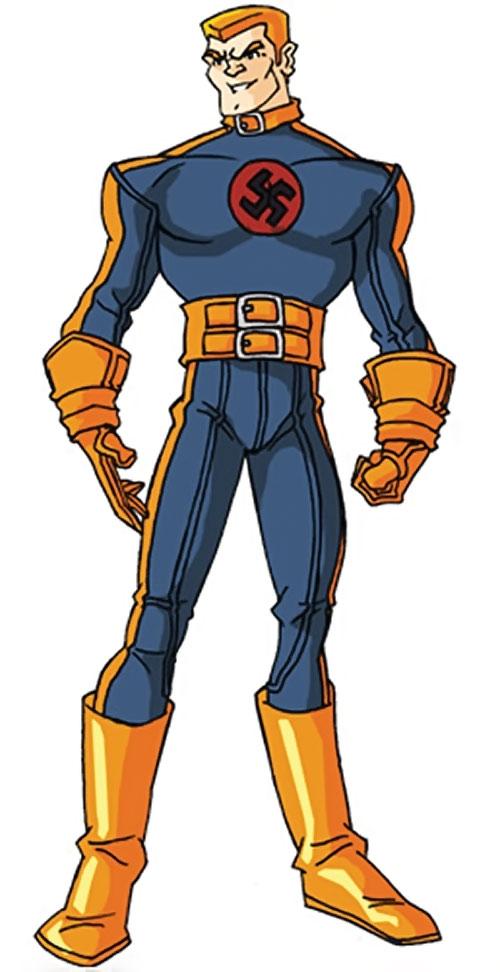 Master Man (Marvel Comics) by RonnieThunderbolts