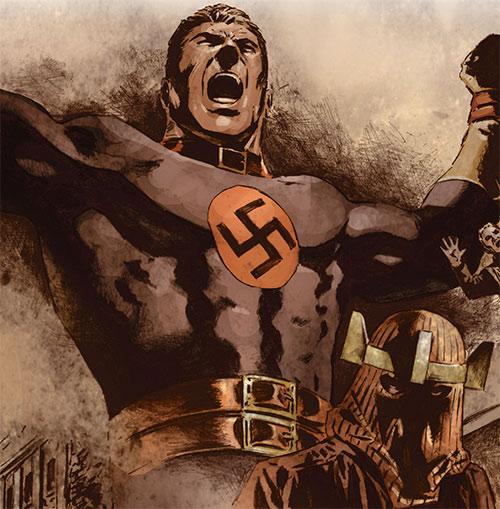 Master Man (Marvel Comics) and Baron Zemo